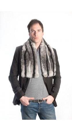 Rex fur scarf - large